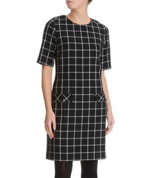 You simply can't go wrong with this on trend monocrome shift dress by Savida at Dunnes. Ideal for after work drinks.