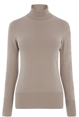 Perfect with skirts and tunic dresses I loved the slim fit of this Oasis camel polo neck. This is one piece I'll have on all winter.
