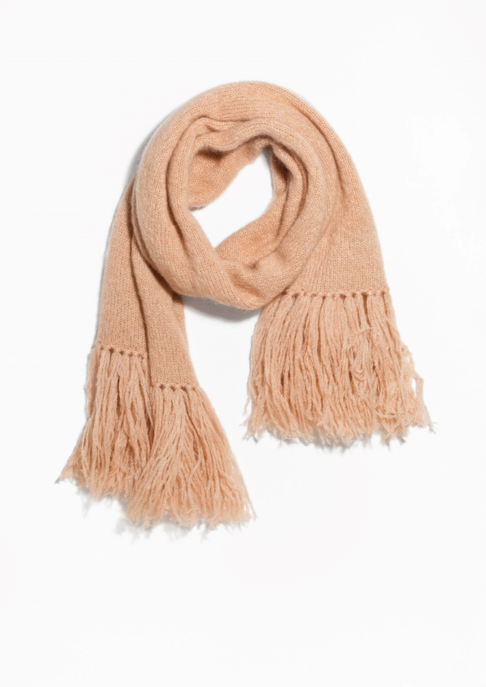 I love this oversized mohair blanket scarf from & Other Stories - perfect for keeping cosy. The camel tone means that it goes with every outfit and is great for adding layers to your look. ( Was £55 now £28)