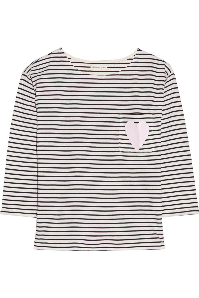 Lots of my favourite Chinti & Parker stripes are down to a steal on The Outnet website. I love the cute heart pocket detailing on this one! (Was £90 now £40.50)