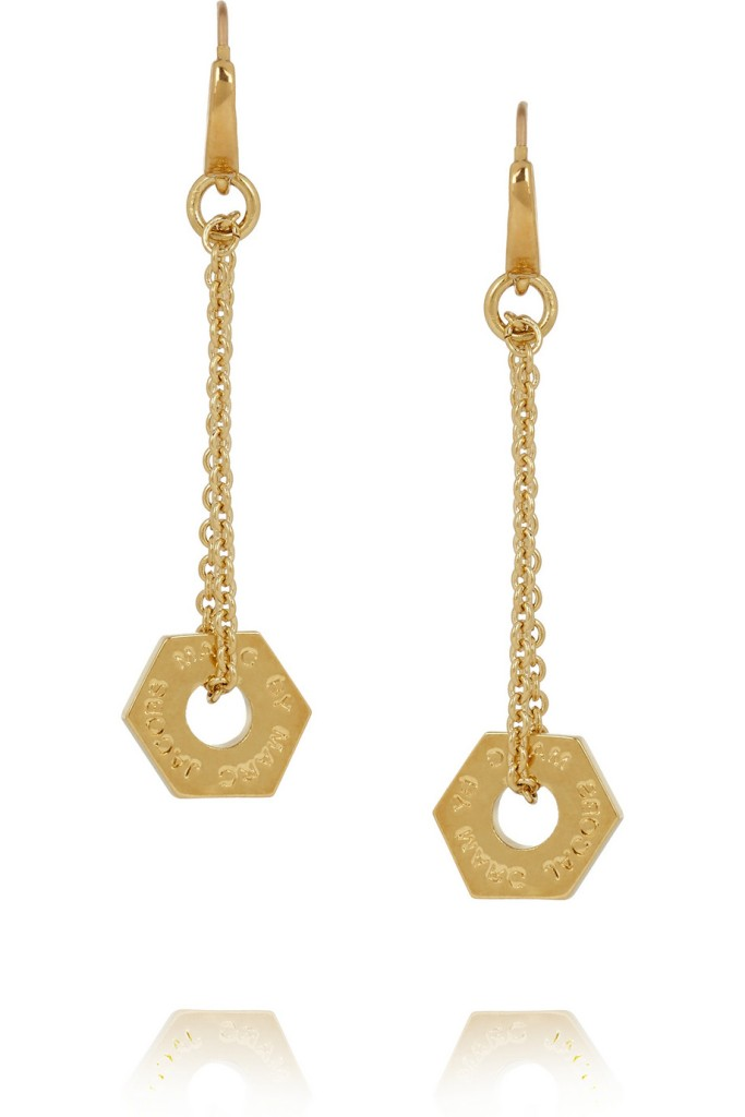 I love love love these Marc by Mac Jacobs gold tone earrings. Dainty in size and perfect for day to night jewels. (Was £60 now £33)