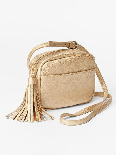 This GAP mini crossbody bag is so Gucci soho it hurts. In three gorgeous colours and for a fraction of the price this little bag may be purchased more than once... (Was £24.95 now £16.99)