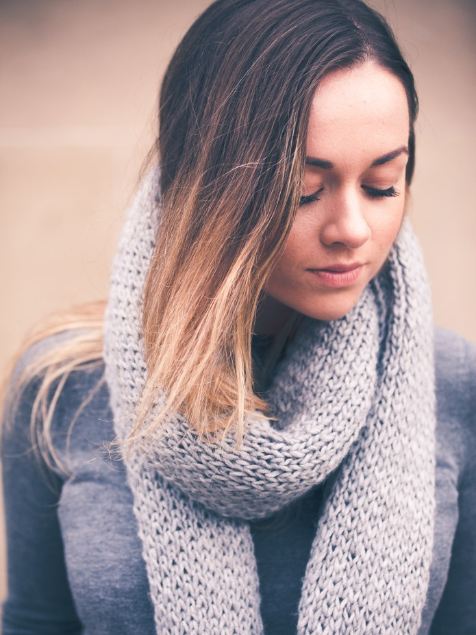 Flatforms blog casual style scarf