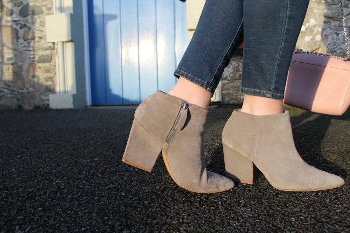 Spring trend zara pointed boots grey blog